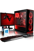 Vibox Vision 2 pc gamer ordinateur avec 2 jeux gratuits, windows 10 os, 22