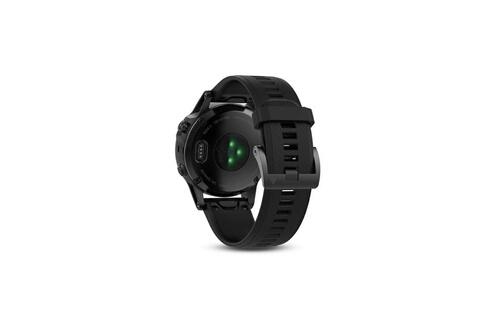 Garmin Garmin montre gps fenix 5 sapphire - 10 atm - noir et gris - mixte
