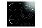 Faure Table de cuisson vitrocéramique 59cm 3 feux 2700w noir - faure - fev6334fba