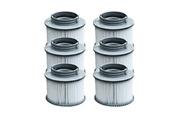 M-spa Lot de 6 cartouches filtrantes à baïonnette pour spa gonflable mspa