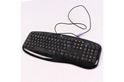 Logitech Clavier azerty noir ps/2 logitech y-sm48 867674-0101 pc keyboard 110 touches