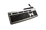 Fujitsu Clavier azerty argenté fujitsu kb slim s26381-k365-v640 usb 105 touches keyboard
