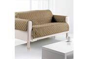 Sde Housse de canapé 3 places microfibre 179x265 cm taupe