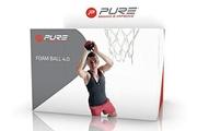 Pure 2 Improve Pure2improve basketball 4 0 schaumstoff schwarz/orange durchmesser 10 2 cm 2017