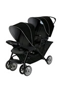 GRACO Poussette double stadium duo black grey