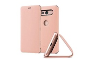 Sony Scsh50 - etui style cover stand rose pour xperia xz2 compact