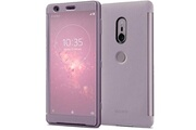 Sony Scth40 - etui style cover touch rose pour xperia xz2