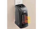 Wewoo Chauffage électrique pour bureau maison ac 220-240 v eu plug 400 w portable mini handy chauffe-air chaud ventilateur radiateur chauffe-eau sortie mura