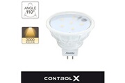 Xanlite Ampoule led spots / smart lighting, culot gu5.3, 2,7w cons. (35w eq.), lumière blanc chaud