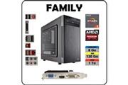 Atlanpolis Pc family amd ryzen 3 1200 / 8 go ddr4 / ssd 120 go + 1 to / carte graphique amd r5 230 / windows 10