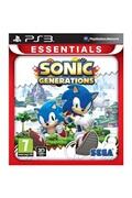 Sega Sonic generations (essentials) game ps3