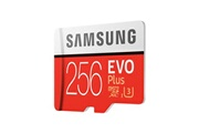 Sumsung Samsung evo plus carte mémoire micro sd sdxc 256g c10 tf uhs-i u3 100mo/s