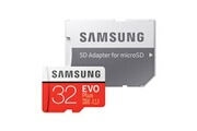Sumsung Carte mémoire micro sd sdhc samsung 32go evo plus 95mo/s uhs-i classe 10 adaptateur inclus