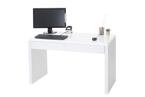 Mendler bureau design edmonton table de bureau ordinateur poli