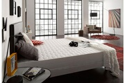 NATURALEX Matelas ergo naturalex 140x190 cm 18cm avec mémoire de forme viscotex® + mousse hr blue latex® 7 zones de confort ferme