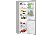 Indesit Réfrigérateur combiné 60cm 338l a+ brassé silver - indesit - lr8s1fs