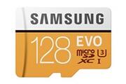 Samsung Samsung evo carte mémoire micro sd 128 go sdxc uhs-i u3 classe 10 100mo/s