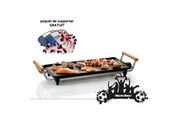 Domo Domo do8307tp - plancha électrique teppanyaki - 2100 w - pack supporter