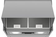 Bosch Hotte escamotable 60cm 52db 360m3/h silver - bosch - dem63ac00
