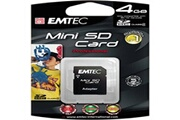 Emtec mini sd 4Go 80x HC
