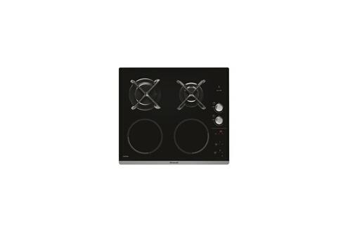 Brandt Table De Cuisson Mixte 2 Induction 2 Gaz Bpi6414bm