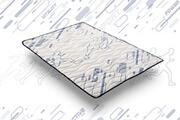 Cosmos Sur-matelas topper sporty 140x190 cm - mémoire de forme visco v200® - mouse hr active latex® - antibactérien
