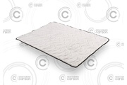 Cosmos Sur-matelas topper carbon 160x200 cm - mémoire de forme visco v200® - mouse hr active latex® - antibactérien