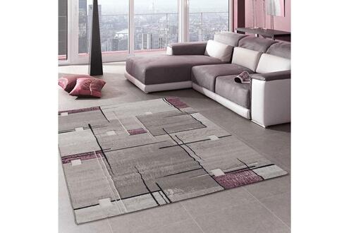 Unamourdetapis Tapis salon nova violet 160 x 230 cm tapis de salon ...