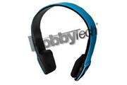 Hobby Concept Hobby tech - casque stéréo bluetooth qualité hifi couleur bleu + micro intégré