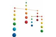 HABA Mobile pour bébés balles d'arc-en-ciel 300331