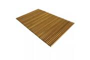 GENERIQUE Accessoires de salle de bain gamme montevideo tapis de salle de bain bois d'acacia 80 x 50 cm