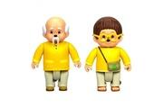 Silverlit Ouaps - monchhichi pack 2 figurines feuillu et sylvus