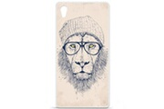 1001 Coques Coque silicone gel sony xperia z5 motif bs cool lion