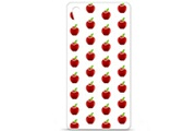 1001 Coques Coque silicone gel sony xperia z5 motif pomme blanc