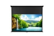 Excelvan Excelvan 100 pouces diagonale 16: 9 ratio 1.2 gain écran de projection manuel écran de projection adapté pour dtv 1080p / sports / films / présentations avec dispositif de verrouillage automatique