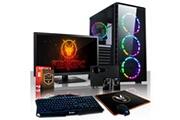 Fierce Pc Fierce apache pc gamer de bureau - intel core i7 8700 6x4.6ghz cpu, 8go ram, gtx 1050 ti 4go, 1to hdd - 462721