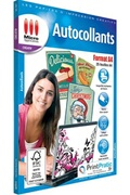 Micro Application Pack 25 autocollants format a4 micro application ma-5067