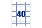 Avery Etiquettes anti-effraction 45.7 x 25.4 mm x 800