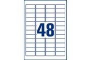 Avery Etiquettes ultra-résistantes en polyéthylène 45.7 x 21.2 mm x 480