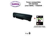 T3azur Toner générique hp cb436a , hp 36a pour imprimante hp m 1120, 1120 mfp, 1120n+ 10f papiers photos a6 -t3azur