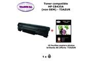 T3azur Toner générique hp cb435a ,hp 35a pour imprimante hp p 1005 1006 1007 1008 1009+ 10f papiers photos a6 -t3azur