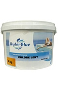 Astral Chlore lent waterblue galets 250g - 50kg