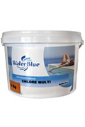 Piscine Center O'clair Chlore multifonctions waterblue galets 250g - 40kg