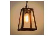 Kosilum Suspension lanterne noire - fresy
