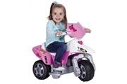 FEBER Feber moto electrique enfant la trimoto pink tatoo 6 volts