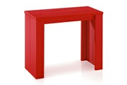 MenzzoPremium Table console extensible brookline rouge