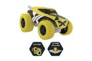 Silverlit Exost - voiture télécommandée mini fold xs jaune et noire - echelle 1:34