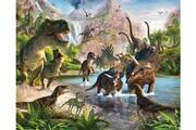 Walltastic Papier peint mural pays des dinosaures walltastic 305x244 cm