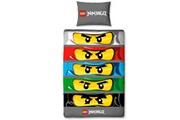 Character World Parure de lit réversible lego ninjago eyes
