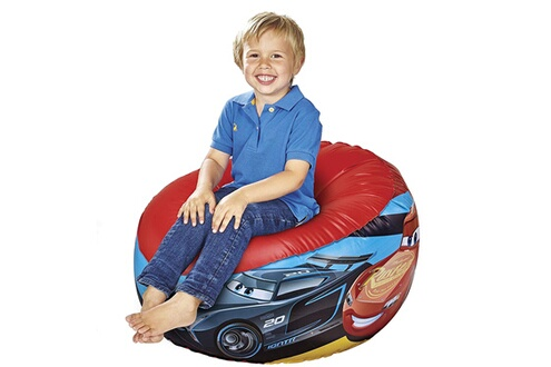Worlds Apart Pouf gonflable cars disney